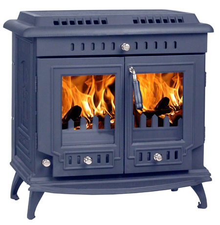 Blue-pained-stove