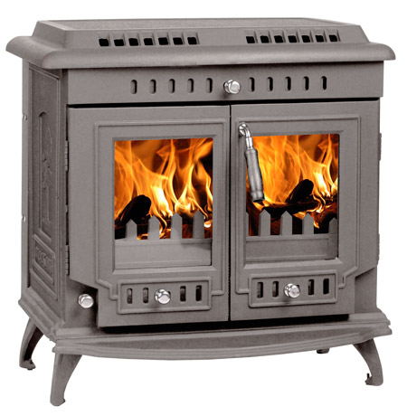 Grey-pained-stove